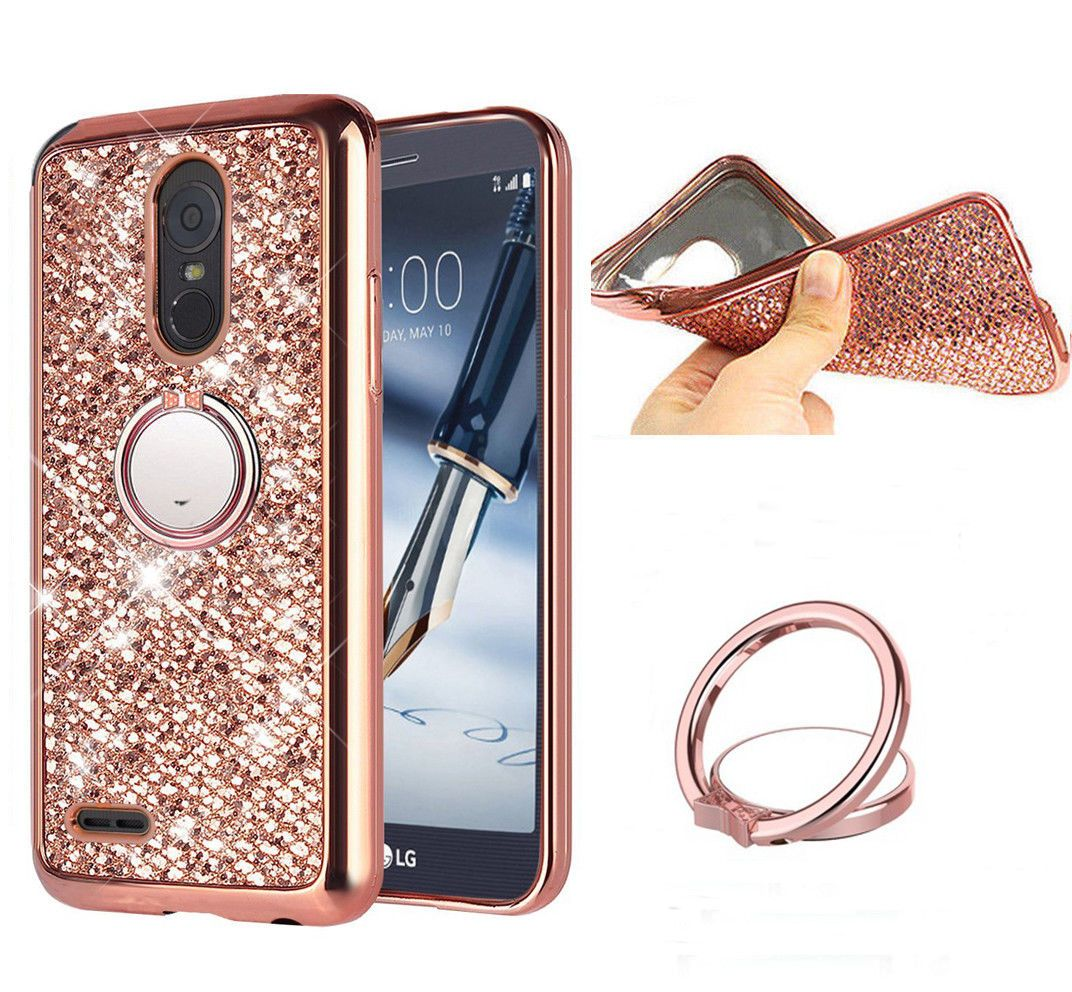 best authentic 07bc2 28445 Details about For LG Stylus 3 / Stylo 3 Plus Bling shockproof Case ...