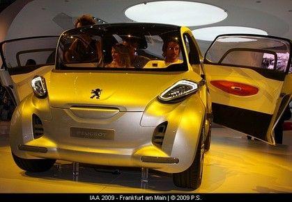Peugeot Bb1 Concept Electric Car Electric Vehicles Pinterest