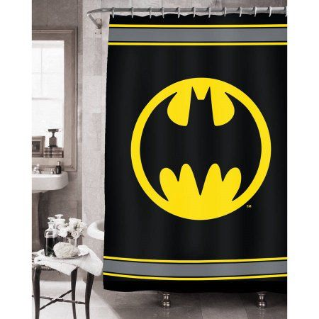 Home In 2020 Batman Bathroom Fabric Shower Curtains Batman