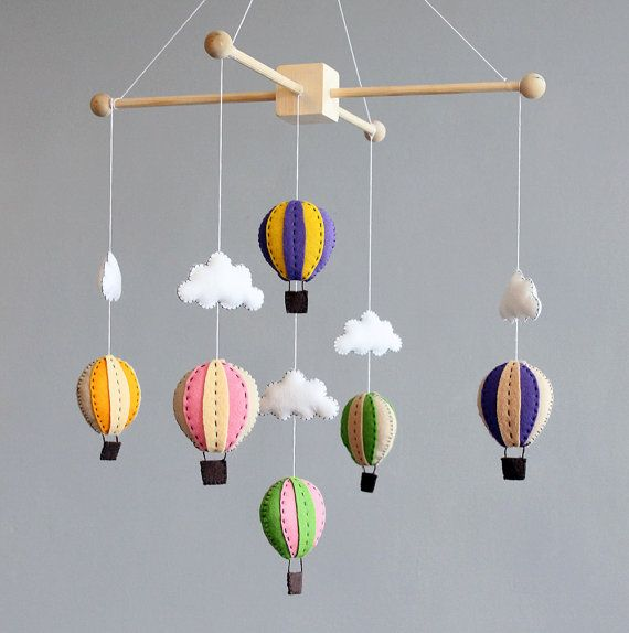 Diy Baby Mobile How To Make Your Own Hot Air Balloon Crib Pattern