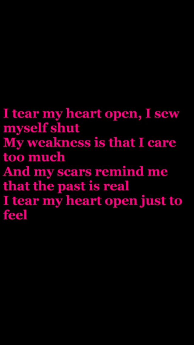 Lyric epic rap battles lyrics : Love this lyric Papa Roach Scars | Bands/Music | Pinterest ...