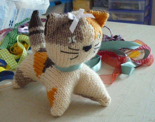 patron tricoter chat