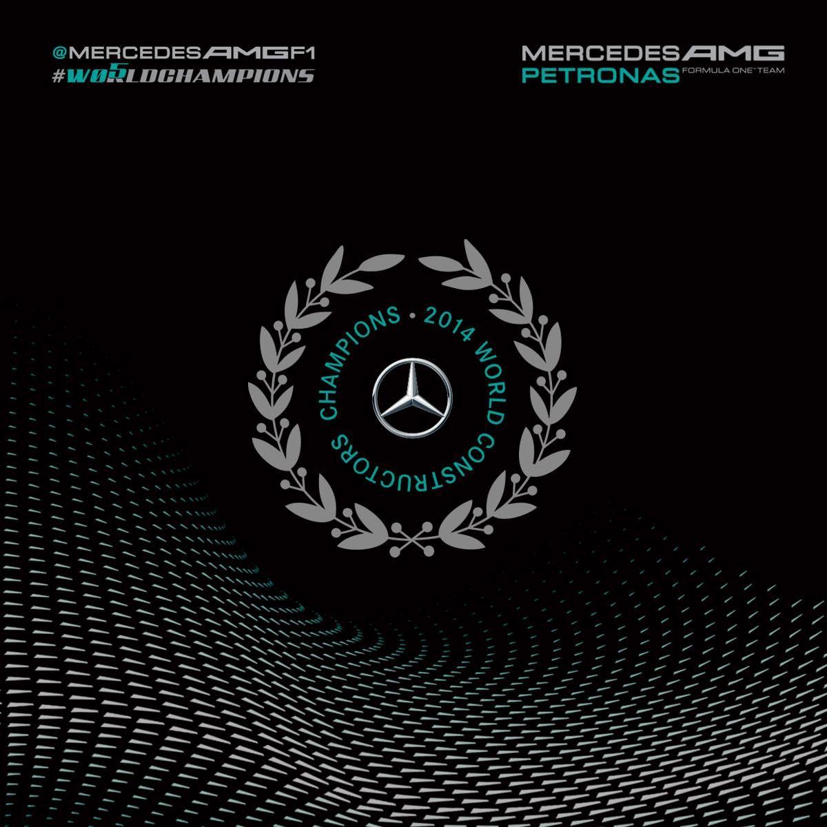 mercedes amg petronas f1 team 2014 world constructors. Black Bedroom Furniture Sets. Home Design Ideas