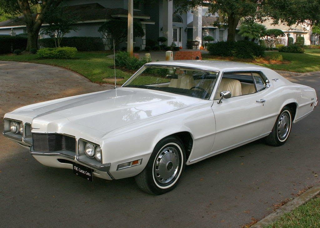 All American Classic Cars: 1970 Ford Thunderbird 2-Door Hardtop ...