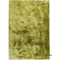 Photo of benuta Hochflor Shaggyteppich Whisper Grün 300×400 cm – Langflor Teppich für Wohnzimmer benuta