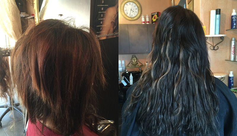 Before Extensions | After Extensions
