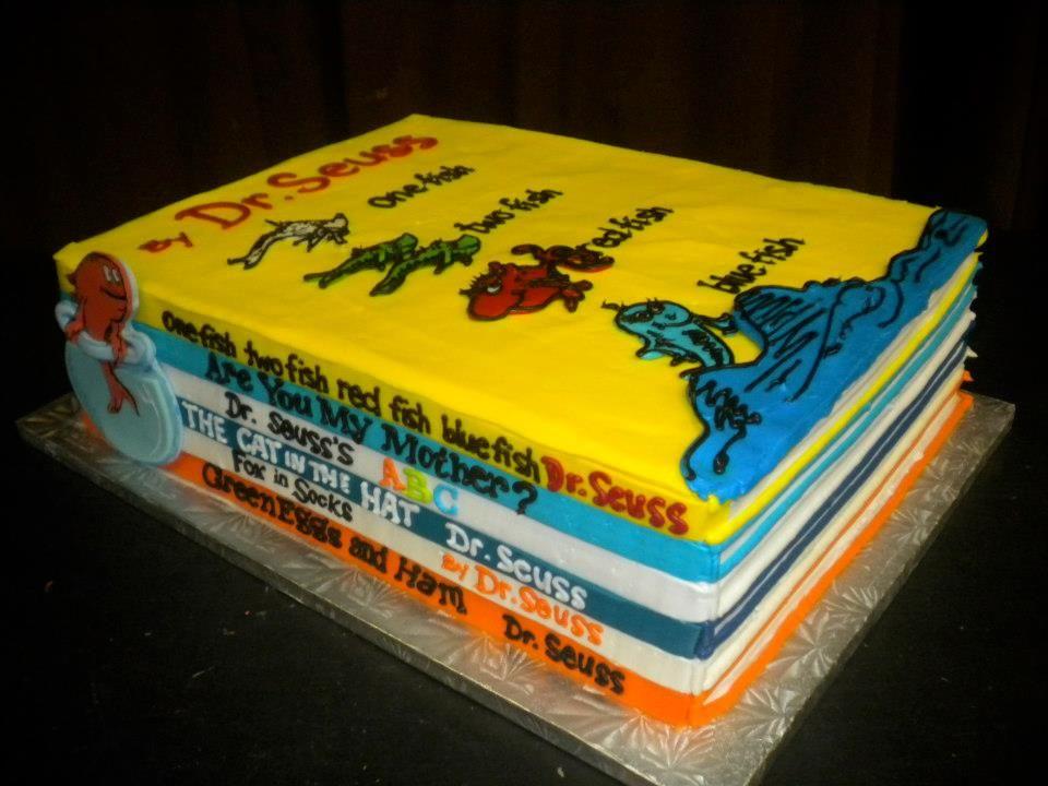 Admirable Dr Seuss Cake So Cute Seuss Baby Shower Cake Seuss Funny Birthday Cards Online Sheoxdamsfinfo
