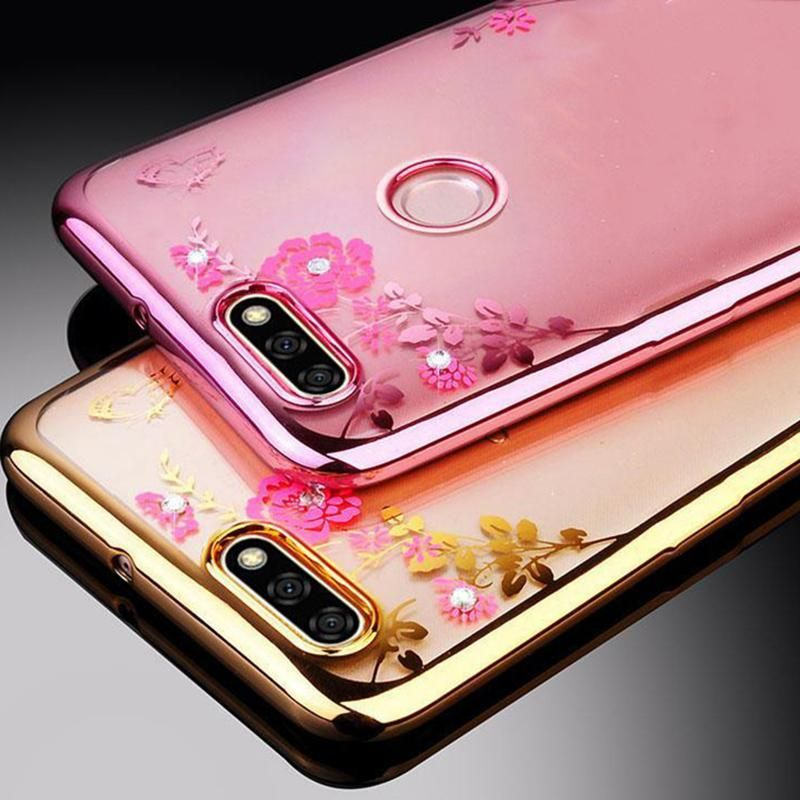 reputable site 33ed7 163fb Plating Bumper Case For huawei Honor 7x Cover soft tpu silicone ...