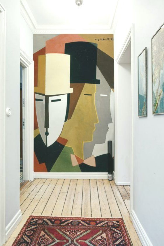 21 idee di pittura murale per interni alla moda! | Murale ...