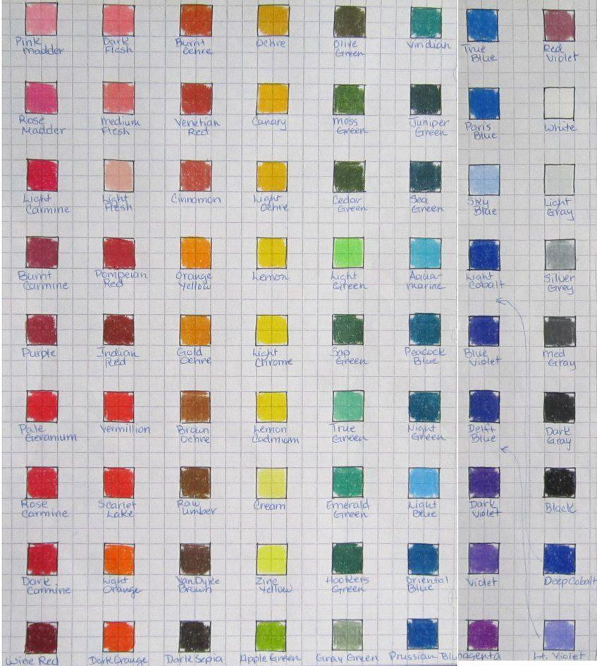 403 Forbidden Color Chart Chart Z Arts