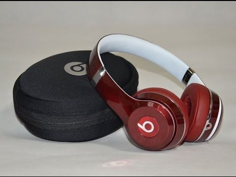 Beats Solo2 Wired Luxe Edition Red Beats Sound