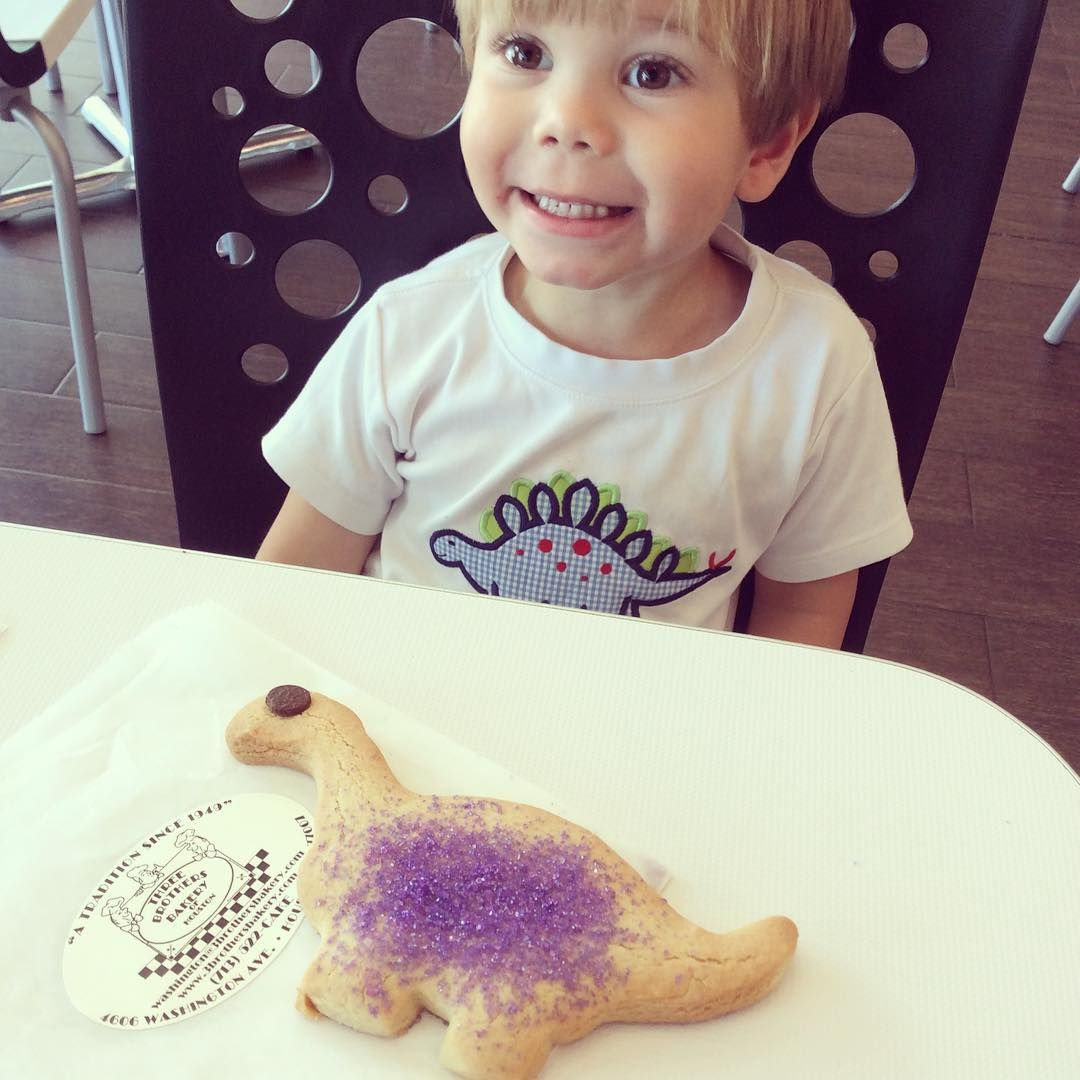 Have you been to visit our neighbor, @3brothersbakery? They're partnering with @hmns this month, so pick up a dinosaur or butterfly cookie today to support the museum! #internapproved #washingtonavenue #washingtoncorridor #katieandcohouston #houston - @katieandcohouston