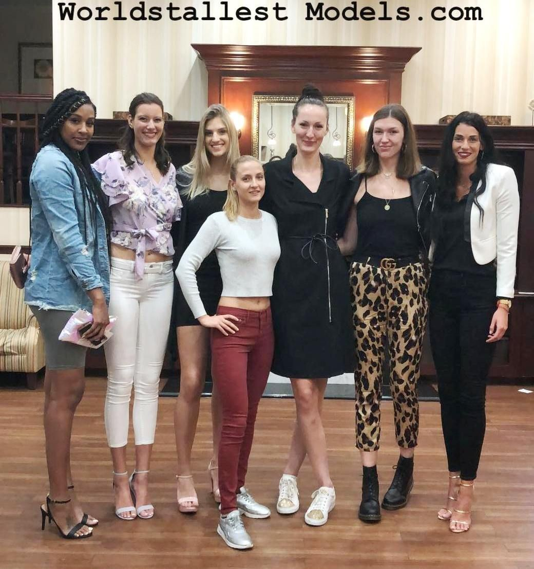 World Tallest Models Meeting The Shortie Is 5ft10 By Zaratustraelsabio