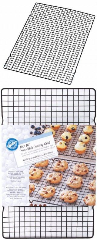 Wilton Nonstick Cooling Grid 10 By 16 Inch How To Make Cookies