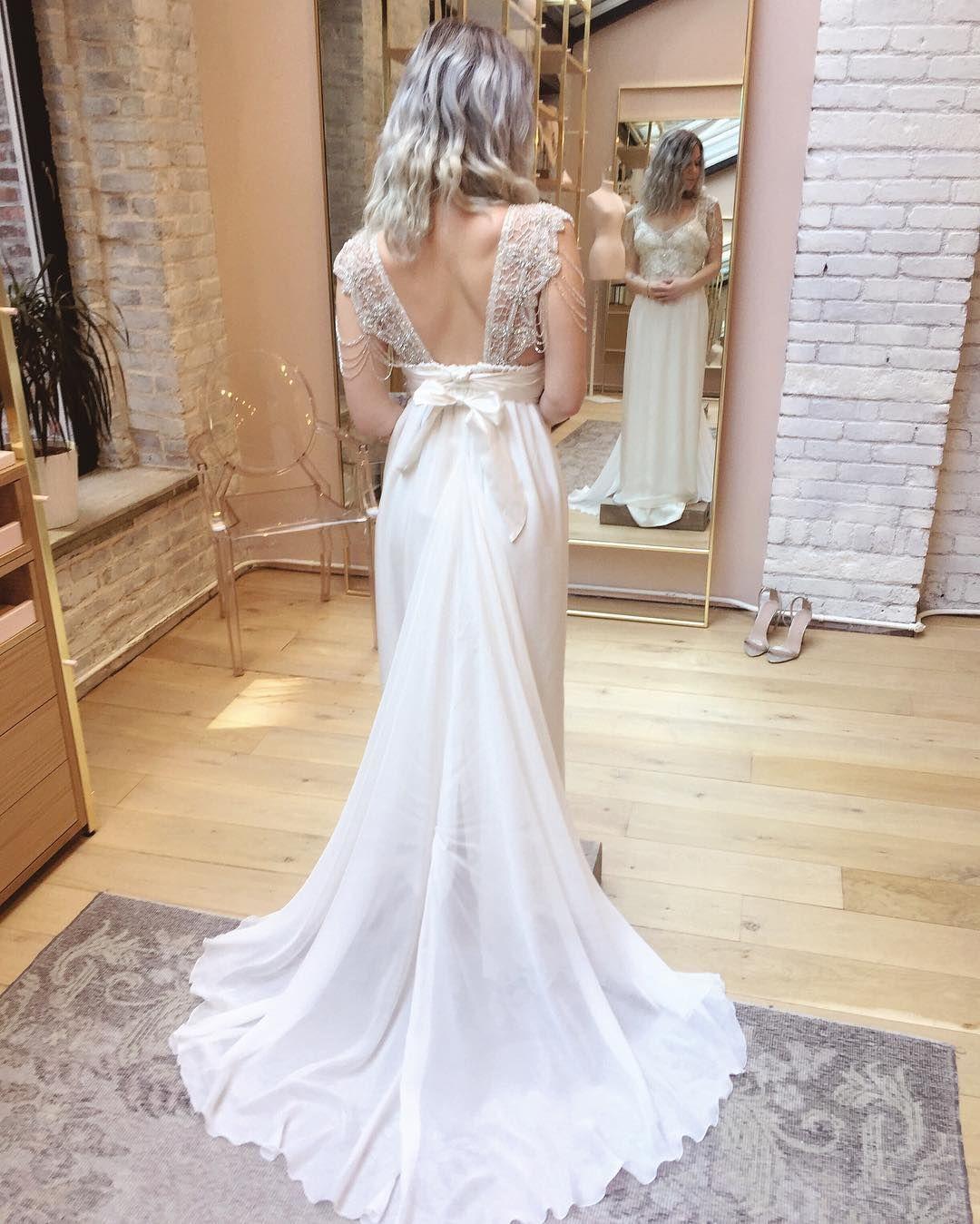 Anna Campbell Grace Dress Us Stockists Lovely Bride New York