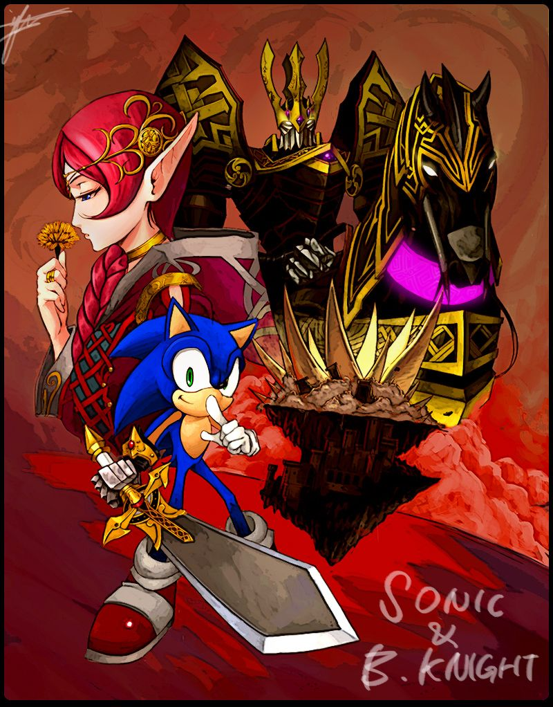 Sonic And The Black Knight By Defiaz On Deviantart Possibly My