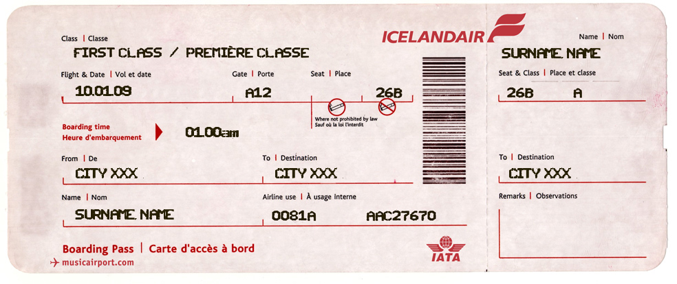Make Your Own Tickets Template Diy Boarding Pass Generate Your Own Ticket With Your Name Pick An .