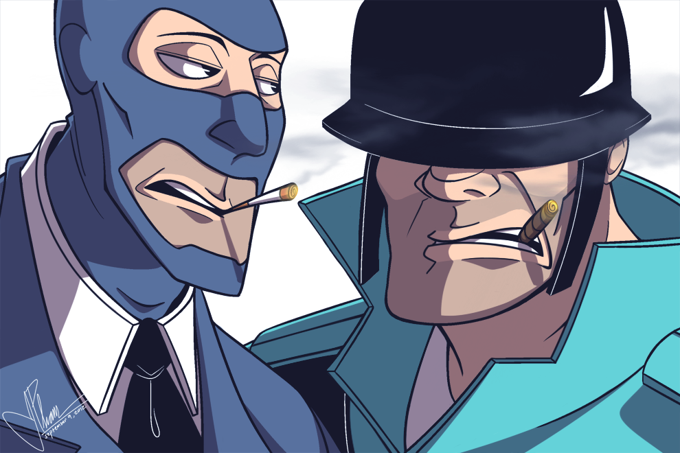 Cigars And Cigarettes By Rheezy Deviantart Com Tf2 Spy And