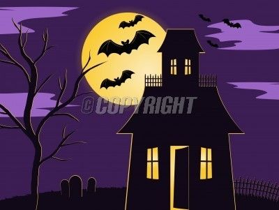 Spooky Halloween Scenes Google Search Halloween Scene Haunted House Halloween