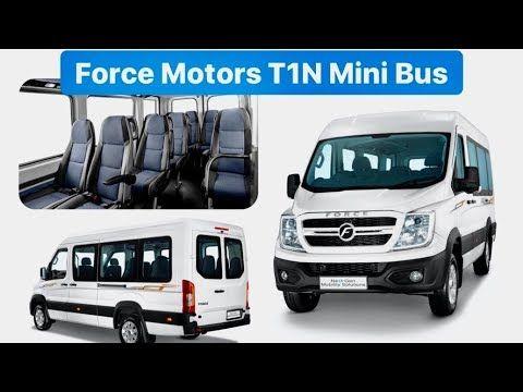 2020 Force Motors T1N - BS6 Diesel & Electric Mini Bus - Walkaround - YouTube