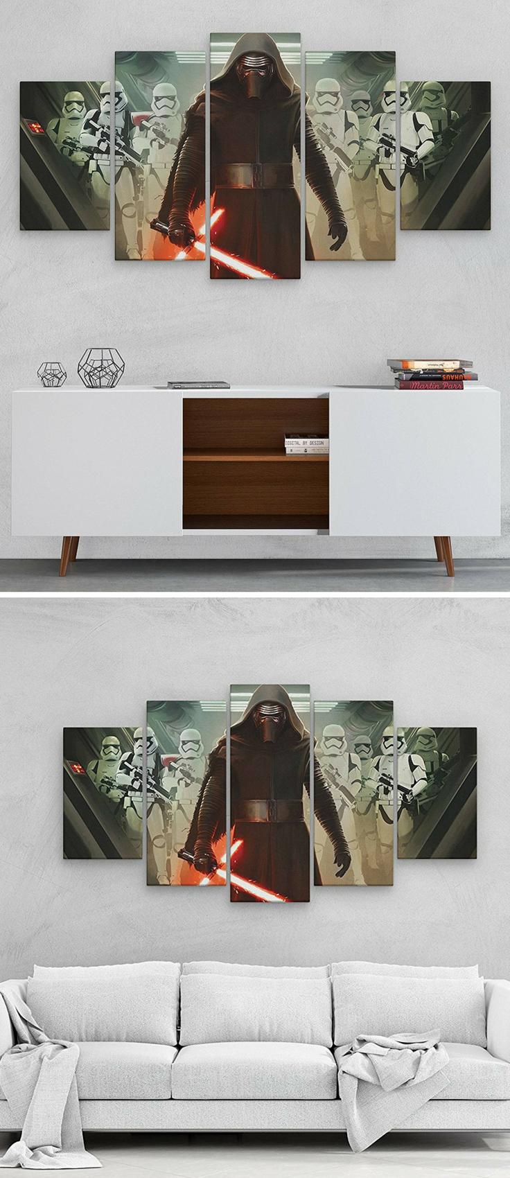 Star wars wall art canvas Барбершоп pinterest star wars gifts