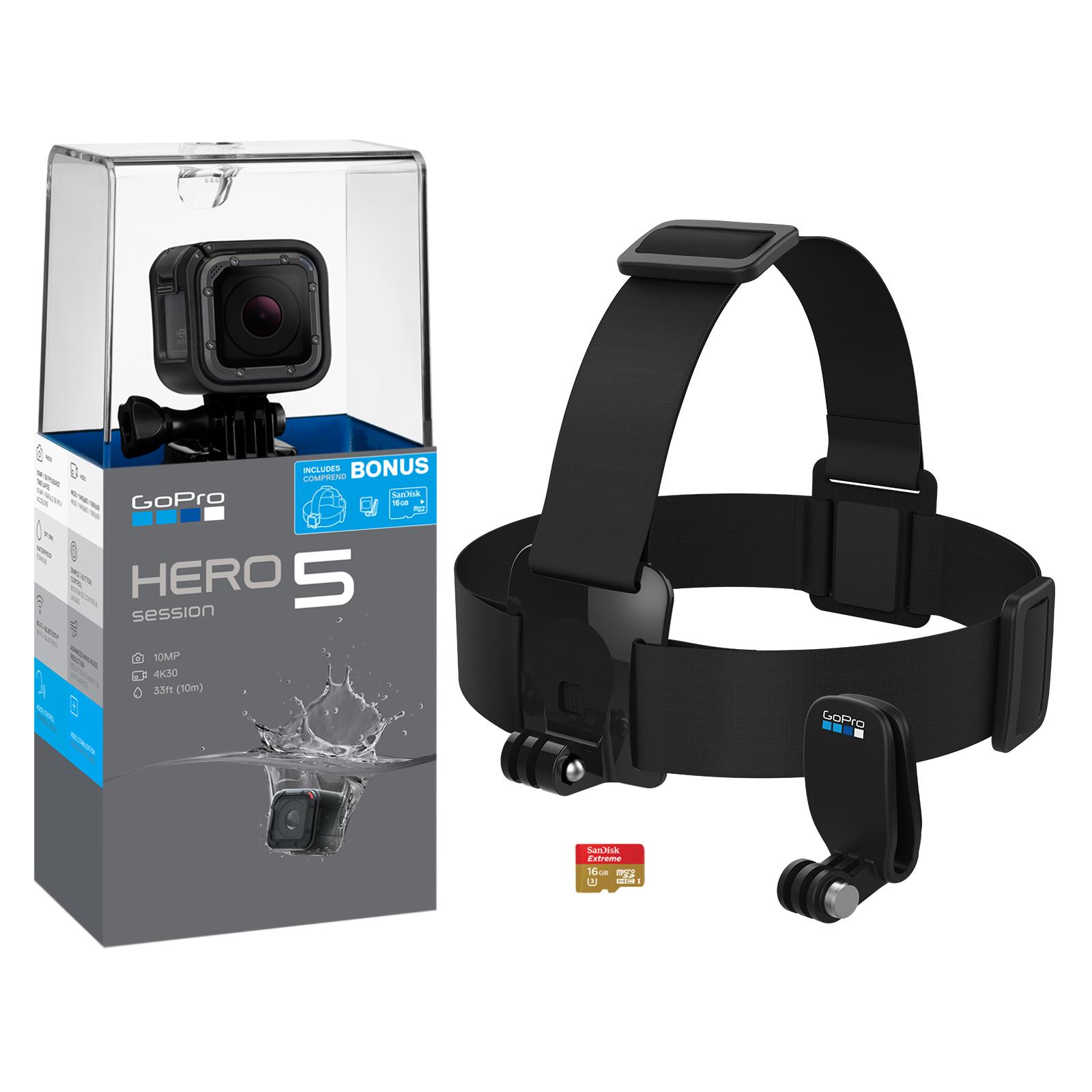 Buy GoPro HERO5 Session Bundle at Walmart.com  7e15ad945493