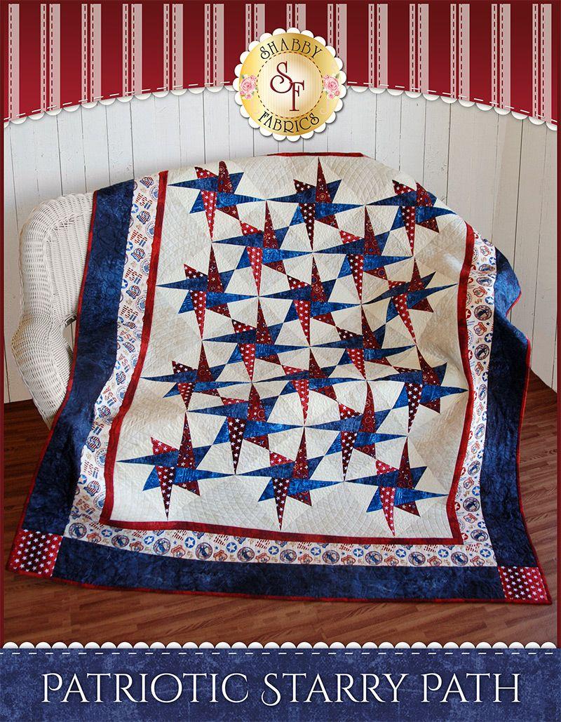 Patriotic Starry Path Quilt Kit   Keepsakes, Fabrics and Patterns : better quilt kits - Adamdwight.com