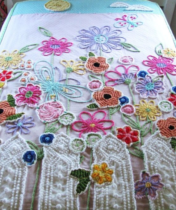 This lady is so talented!! moreChenilleChateau on etsy chenille
