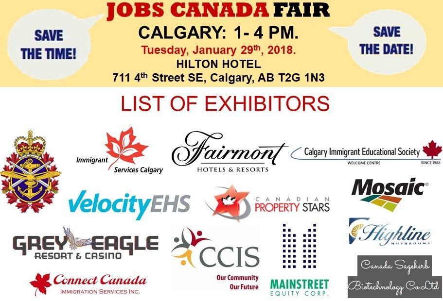 List Of Hiring Companies For Calgary Job Fair January 29th 2019