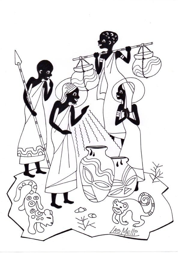 Pin by Borama on Other | Pinterest | Coloring pages, Art and African art