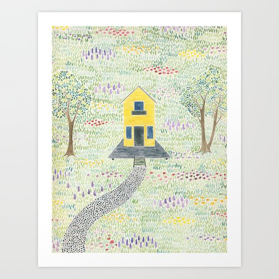 These Happy Golden Years Art Print By Yardia Society6