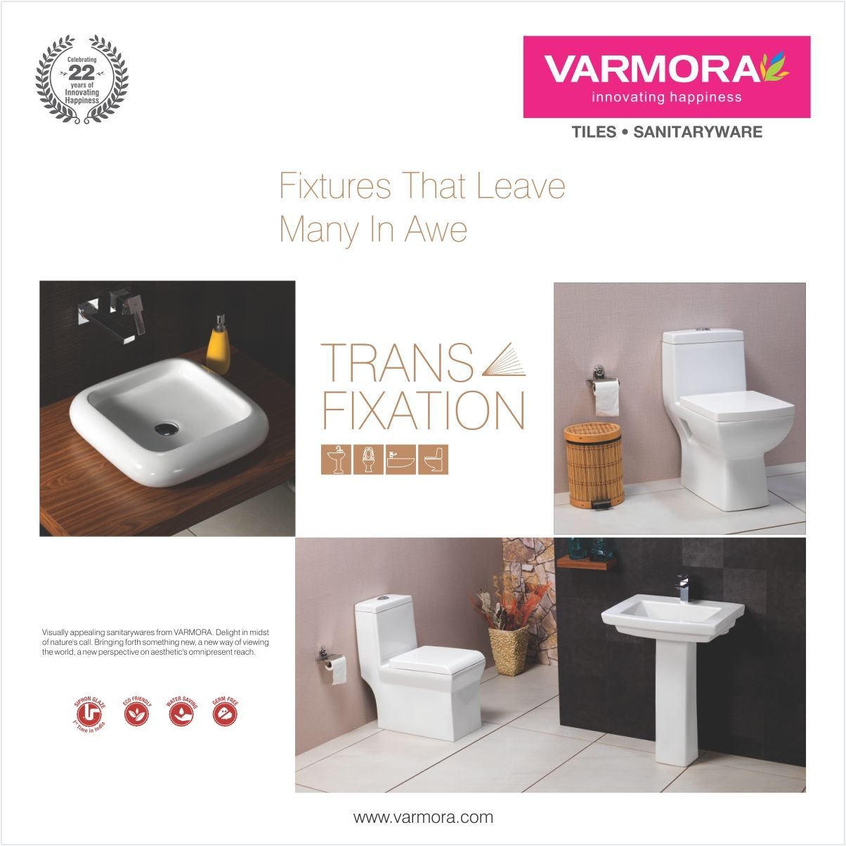 Trans Fixation - Fixtures that leaves many in awe. Sanitary wares ...