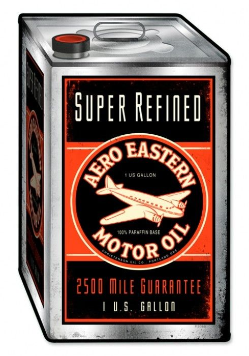 New Aero Eastern Motor Oil Classic Vintage Rustic Metal Advertising Sign PTS195