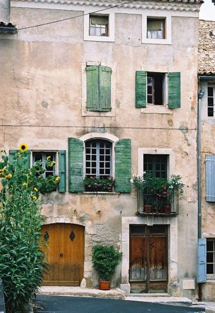 House and Sunflowers Provence