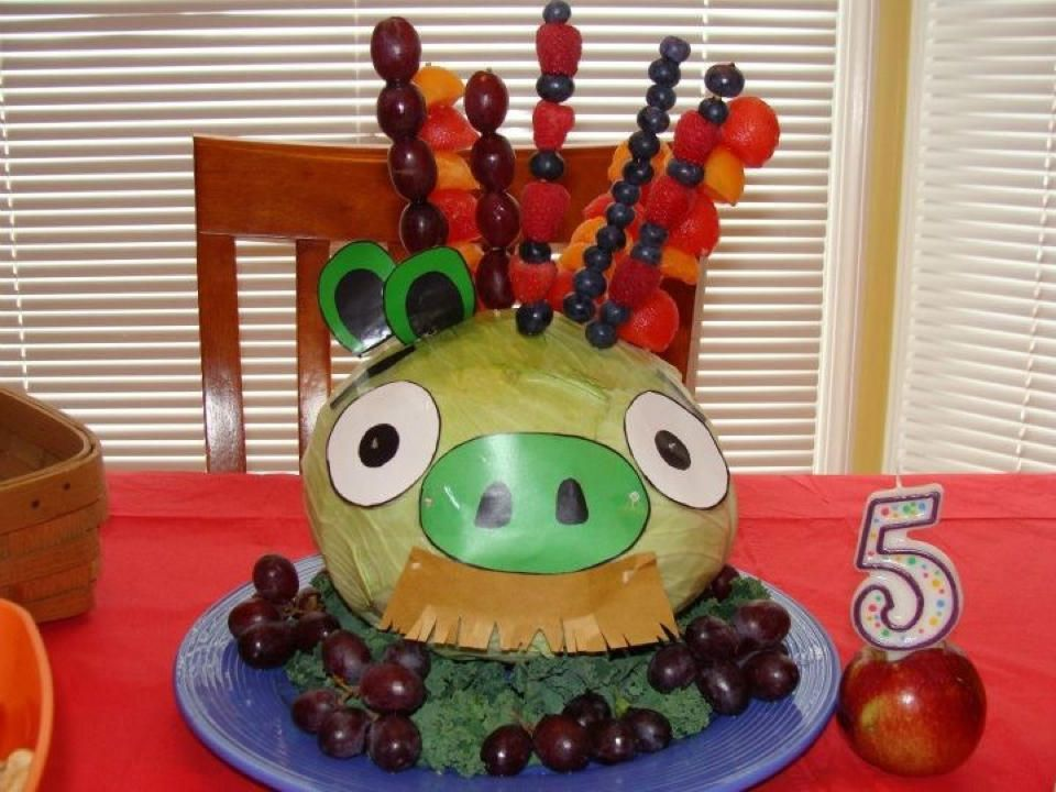 Birthday Cake Ideas for Kids on Limited Diets Due to Allergies Fruit