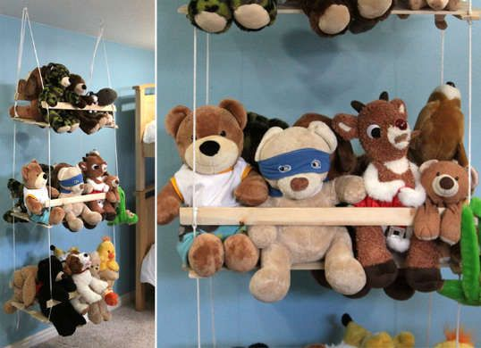 Control Kids Clutter With 7 Creative Diys Stuffed Animal