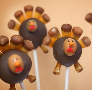 Cake pop turkey - Thanksgiving