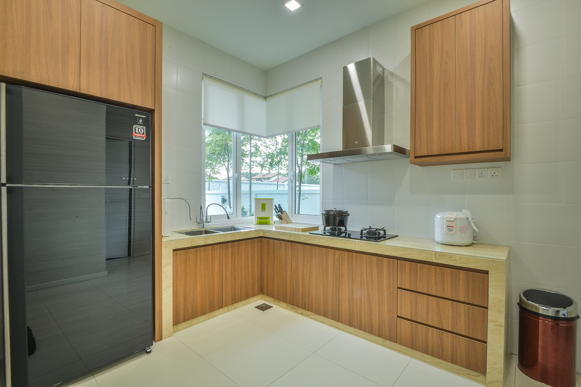 14 practical wet and dry kitchens in malaysia with images