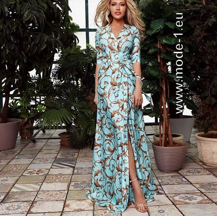 Maxi Sommerkleid 2020 Elegant In Hellbalu Kleid Kleider Mode Damenmode 2020 Sommer Sommerkleid Maxikleid Gun In 2020 Sommerkleid Designer Kleider Maxi Kleider