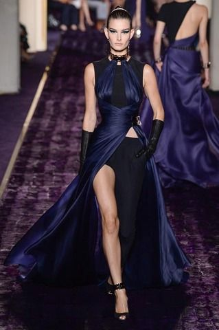 Atelier Versace Fall 2014 Couture Collection Slideshow on Style.com