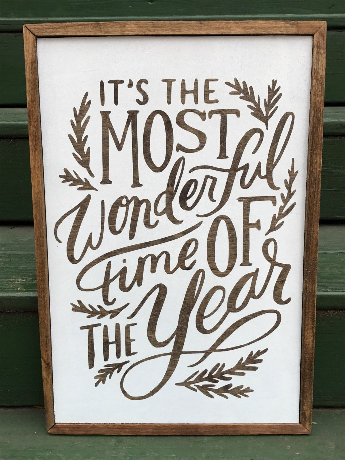 It's the most wonderful time of the year! by EricaTaylorandCo on Etsy https://www.etsy.com/listing/481235978/its-the-most-wonderful-time-of-the-year