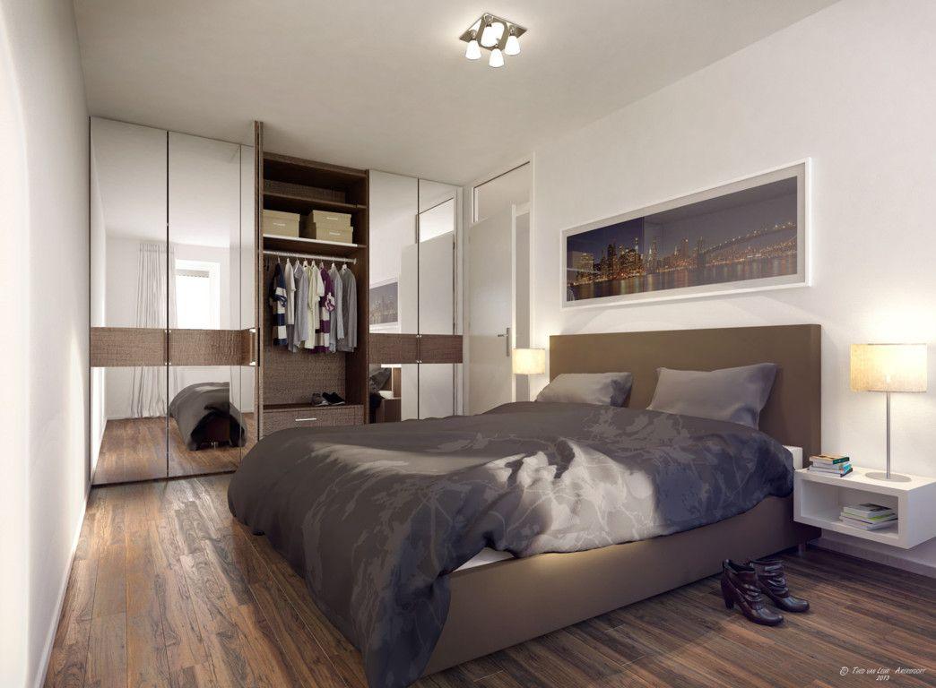 kleine slaapkamer inrichten voorbeelden | Rumah Idaman | Pinterest ...