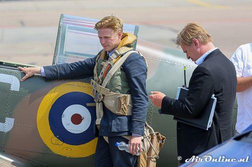 July 21: Jack Lowden in the Yak-052 TW under the direction of Christopher Nolan http://www.aironline.nl/weblog/2016/07/21/21072016-n699dp-yak-52tw-maakt-2-vluchten-onder-toeziend-oog-van-christopher-nolan/