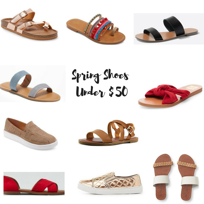 The Best Spring Shoes Under $50 Thrifty Haute Mom | Spring