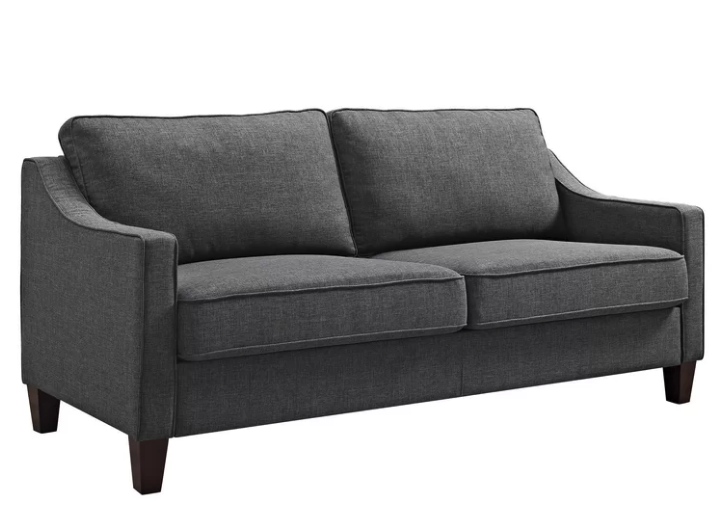 Marvelous 5 Couches You Can Get For Under 500 From Wayfairs Black Machost Co Dining Chair Design Ideas Machostcouk