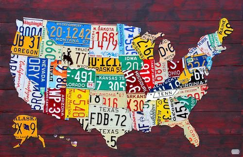 A State-by-State Guide to the 50 Coolest Things in America ... on basketball usa map, state usa map, color usa map, driving usa map, art usa map, paint usa map, time usa map, list 50 states and capitals map, license plate world map, license plate map art, reverse usa map, license plates for each state, motorcycle usa map, flag usa map, decals usa map, golf usa map, baseball usa map, map usa map, leapfrog interactive united states map, watercolor usa map,