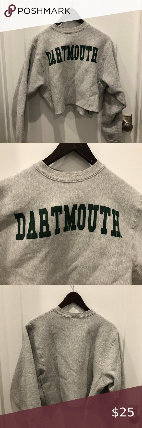 Dartmouth College Sweatshirt Authentic Dartmouth College Sweatshirt Straight From The College Itself Cropped To Sweatshirts College Sweatshirt Sweatshirt Tops [ 1740 x 580 Pixel ]