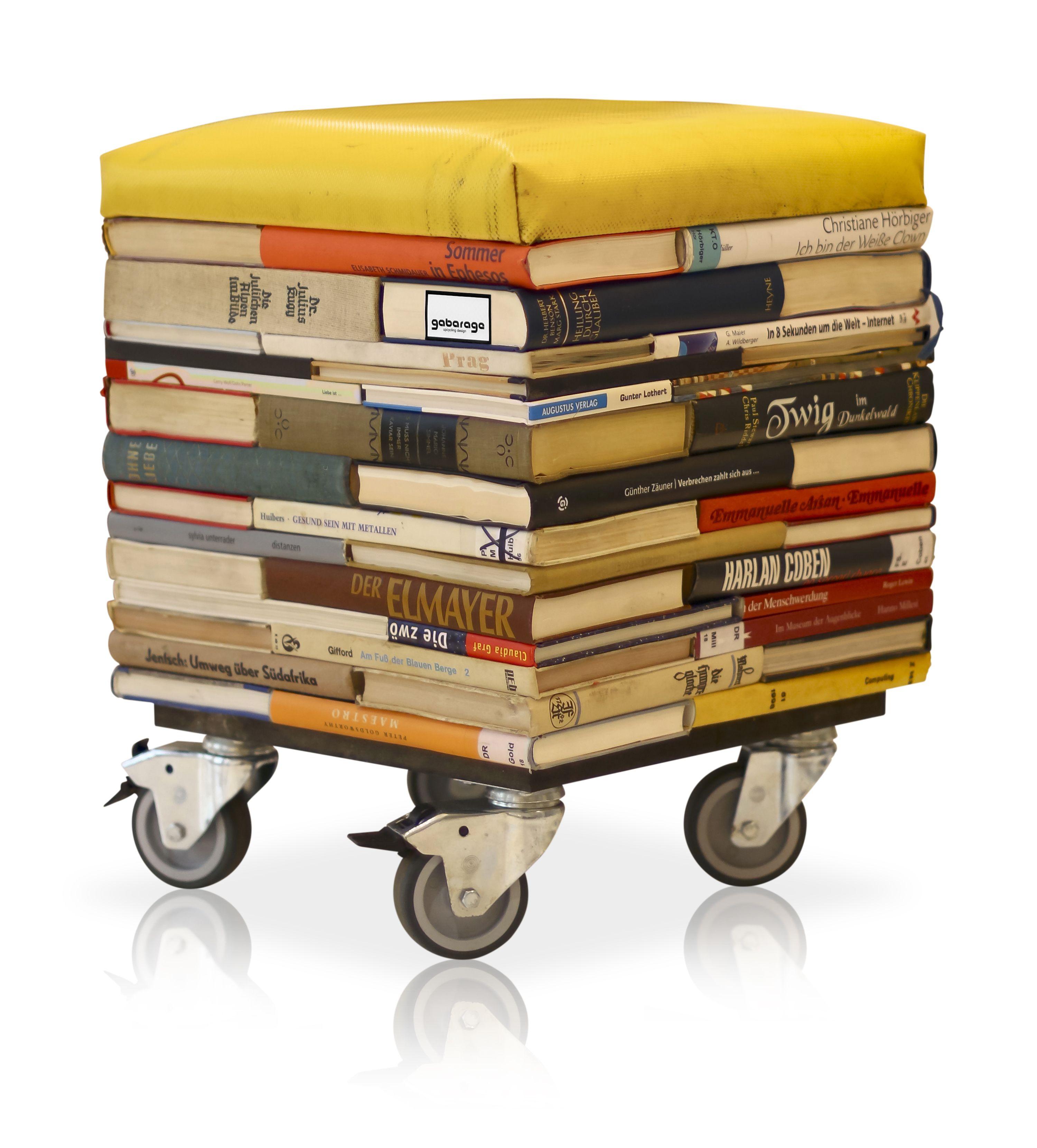 Books Into Stool U2022 Recyclart