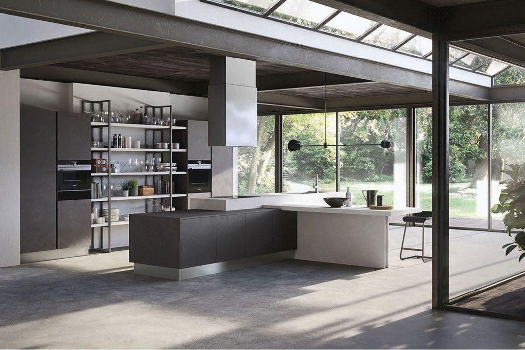 Pedini living in the kitchen kitchen