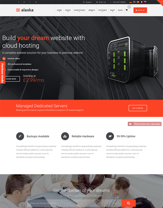 5 of the Best WordPress Themes for Web Hosting Companies ...